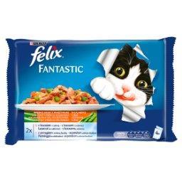 Fantastic Karma dla kotów uczta oceanu z warzywami w...