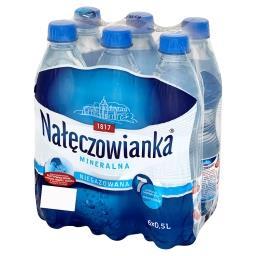 Woda mineralna niegazowana 6 x 0,5 l
