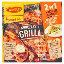 Pomysł na... Kurczaka z grilla 2w1 Marynata barbecue i Masełko ziołowe