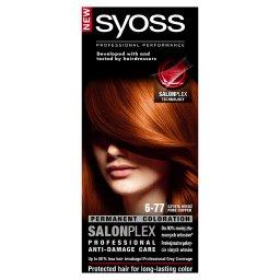 SalonPlex Farba do włosów Czysta miedź 6-77
