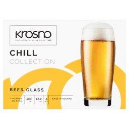 Chill Szklanka do piwa 500 ml 6 sztuk