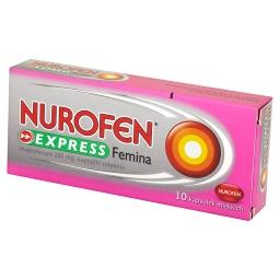 Express Femina 200 mg Kapsułki miękkie 10 sztuk