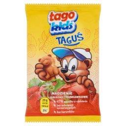 Kids Taguś Ciastko biszkoptowe z nadzieniem jabłkowo-truskawkowym