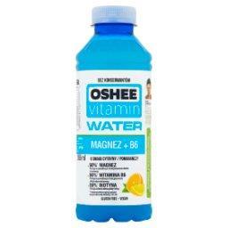 Vitamin Water Magnez + B6 Napój niegazowany o smaku cytryny-pomarańczy