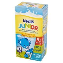 Junior Mleko modyfikowane w proszku dla dzieci od 1. roku życia o smaku waniliowym