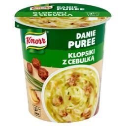 Danie Puree Klopsiki z cebulką