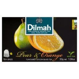 Cejlońska czarna herbata z aromatem gruszki i pomarańczy 30 g (20 torebek)