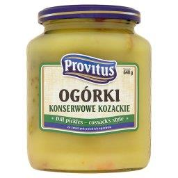 Ogórki konserwowe kozackie