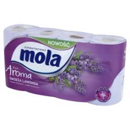 Fresh Aroma Świeża Lawenda Papier toaletowy 8 rolek