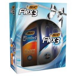 Flex 3 Maszynka do golenia + Pianka do golenia 250 ml