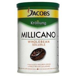 Krönung Millicano Kompozycja kawy rozpuszczalnej i bardzo drobno zmielonych ziaren kawy