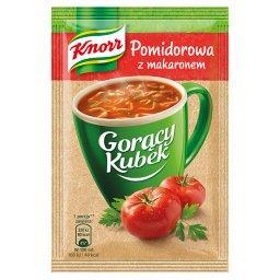 Gorący Kubek Pomidorowa z makaronem