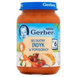 Delikatny indyk w pomidorach po 6 miesiącu