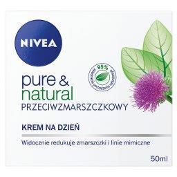 Pure & Natural Przeciwzmarszczkowy krem na dzień