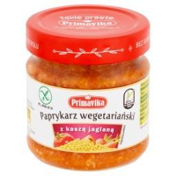 Paprykarz wegetariański z kaszą jaglaną