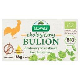 Ekologiczny bulion drobiowy w kostkach  (6 sztuk)