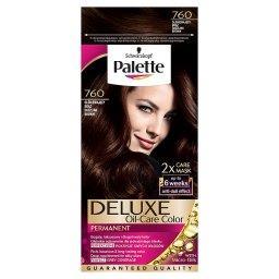 Deluxe Oil-Care Color Farba do włosów Olśniewający brąz 760