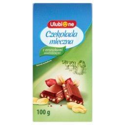 Czekolada mleczna z orzeszkami arachidowymi