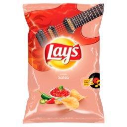 Chipsy ziemniaczane o smaku salsy