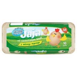 Jaja z wolnego wybiegu M 10 sztuk