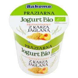 Praziarna Jogurt Bio brzoskwiniowy z kaszą jaglaną