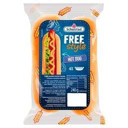 Free Style Bułki pszenne do hot dogów 240 g