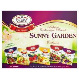 Sunny Garden Zestaw herbat owocowo-ziołowych 72 g (36 torebek)