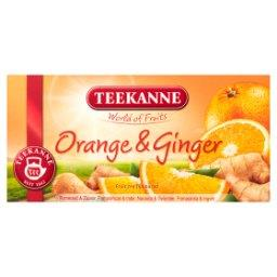 World of Fruits Orange & Ginger Mieszanka herbatek owocowych 45 g
