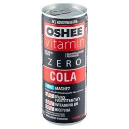 Vitamin Zero Cola Napój gazowany o smaku coli