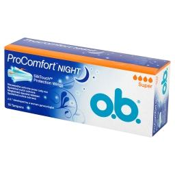 ProComfort Night Super Tampony 16 sztuk