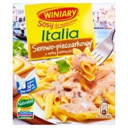 Sosy do makaronu Italia Sos serowo-pieczarkowy z natką pietruszki