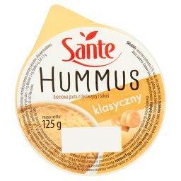 Hummus klasyczny Kremowa pasta z ciecierzycy i tahini
