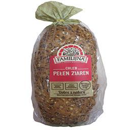 Chleb pełen ziaren krojony 600g