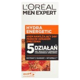 Men Expert Hydra Energetic 25+ Krem nawilżający przeciw oznakom zmęczenia