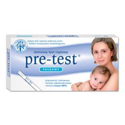 Test ciążowy pre-test - paskowy