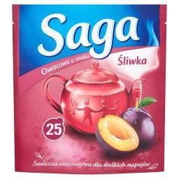 Herbatka owocowa o smaku śliwka  (25 torebek)