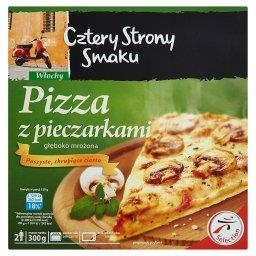 Pizza z pieczarkami