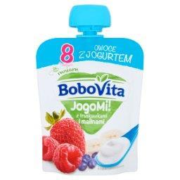 JogoMi! Owoce z jogurtem z truskawkami i malinami po 8 miesiącu