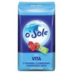 Sól Vita z potasem o obniżonej zawartości sodu jodowana