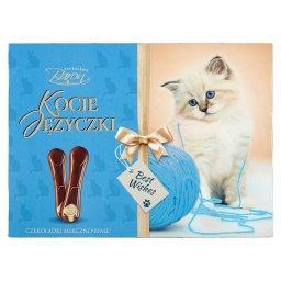 Kocie Języczki Czekoladki mleczne