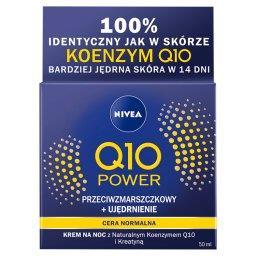 Q10 Power Przeciwzmarszczkowy + Ujędrnienie Regenerujący krem na noc