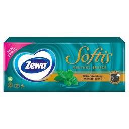 Softis Menthol Chusteczki higieniczne 10 paczek po 9 sztuk