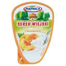 Serek wiejski z brzoskwinią