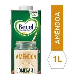 Becel bebida de amendoa 6x1l