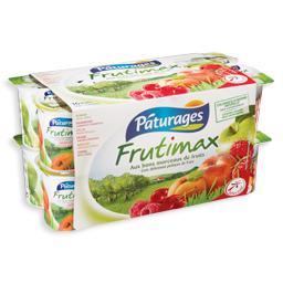 Iogurte com pedaços de fruta