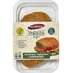 Hamburguers Vegetarianos de Espinafres sem Lactose V...