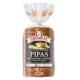 Pão de Forma Oroweat: Pipas