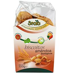Biscoitos de amendoa bio 220g
