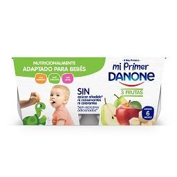 Iogurte o meu primeiro danone polpa de maçã/pera/ban...