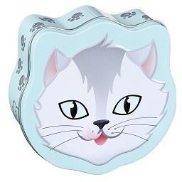 Caixa com línguas de gato